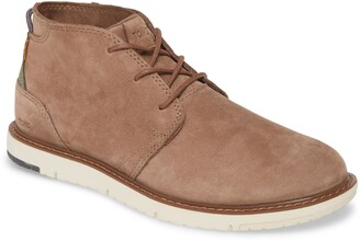 Toms Navi Leather Chukka Boot