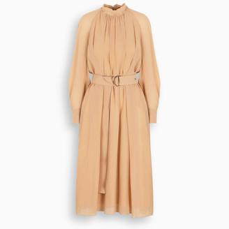 Chloé Peach flared dress