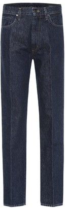 Gold Sign Nineties high-rise straight jeans