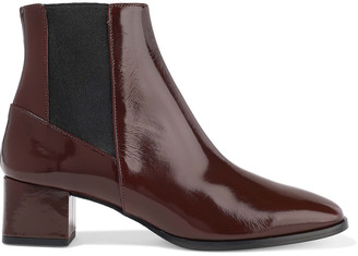 ATP ATELIER Patent-leather Ankle Boots
