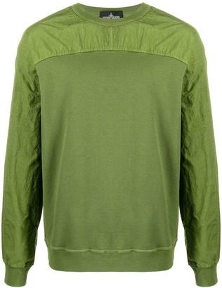 Stone Island Shadow Project Panelled Plain Sweatshirt