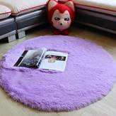 nikstoreinus Plush Shaggy Soft Round Carpet Non-Slip Water absorption Floor Rug Yoga Mat