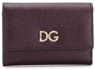 Dolce & Gabbana Logo Plaque Leather Wallet