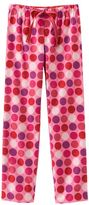 So® Polka-Dot Flannel Pants - Plus