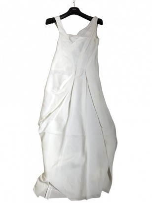 Isabel Benenato Beige Linen Dress for Women