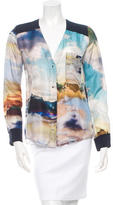 Roseanna Printed Silk Blouse w/ Tags
