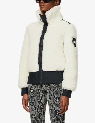 Toni Sailer Rika high-neck wool-blend jacket
