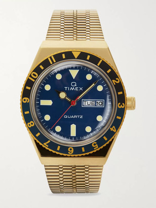 Timex Q Reissue 38mm Gold-Tone Stainless Steel Watch