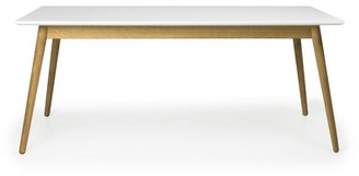 Tenzo Dot Dining Table Color: White Lacquer / Oak