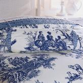 Clever Carriage Home Paris Toile Neckroll Pillow
