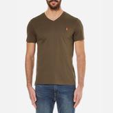 Polo Ralph Lauren Men's Short Sleeve Custom Fit VNeck T-Shirt - Defender Green