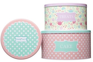 Cake Sweetly Does It Tins Set Of 3