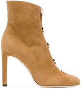 Jimmy Choo Loretta suede booties - women - Goat Skin/Leather/Suede/rubber - 36