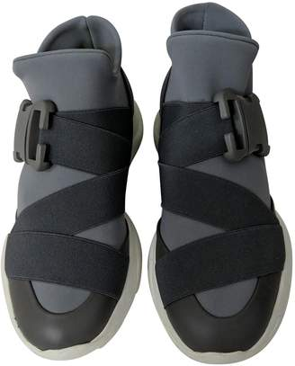 Christopher Kane Grey Rubber Trainers
