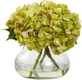 Asstd National Brand Nearly Natural Large Blooming Hydrangea With Vase