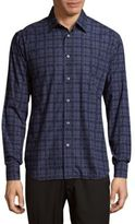 Brioni Printed Cotton Sportshirt
