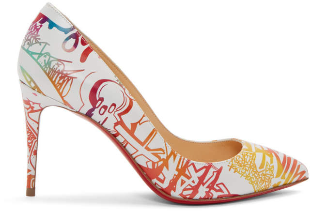 Christian Louboutin Multicolor Grafitti Pigalle Follies Heels