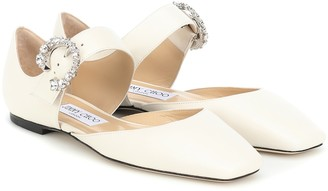 Jimmy Choo Gin leather ballet flats