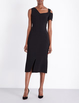 Antonio Berardi Asymmetric stretch-crepe dress