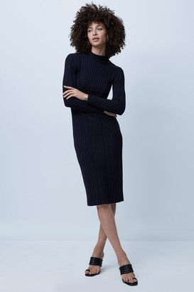 French Connenction Jolie Knits Mock Neck Dress