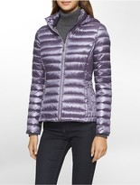 Calvin Klein Lightweight Packable Down Hooded Jacket