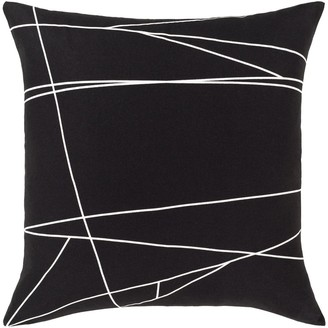 Overstock Euclid Modern 18-inch Poly or Feather Down Filled Throw Pillow