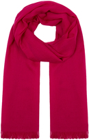 Johnstons of Elgin Fuchsia Lightweight Cashmere Scarf