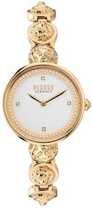 Versus By Versace Women's South Bay Gold-Tone Stainless Steel Bracelet Watch 34mm