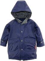 Wippette Little Boys Solid Hooded Fisherman Raincoat Jacket