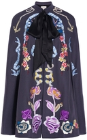 Temperley London Embroidered Sail Cape