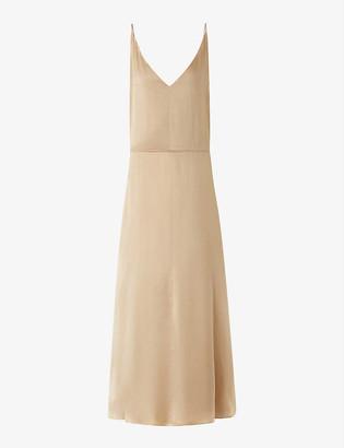 Joseph Delphia silk midi dress