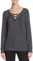 Velvet by Graham & Spencer Lace-Up Sweater