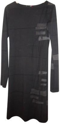 Martine Sitbon Anthracite Wool Dress for Women Vintage