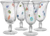 Artland Fiore 4-pc. Footed Glass Set