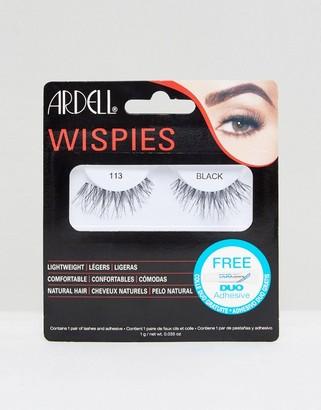 Ardell Lashes Wispies 113-Black