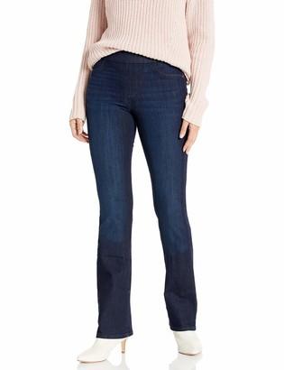 Sanctuary Women's Plus Size Uplift Pull On Demi Boot Cut Jean with Built in Shaper Tech