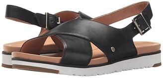 UGG Kamile (Black) Women's Sandals