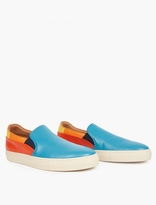 Paul Smith Panelled Leather Slip-On Sneakers