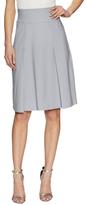 Ava & Aiden Front Pleated Midi Skirt