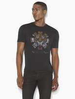 John Varvatos RHCP Tiger Graphic Tee
