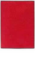 Valextra Leather passport holder Red