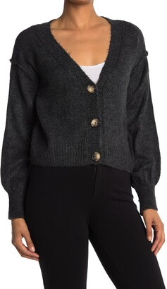 Topshop Courtney Button Front Cardigan