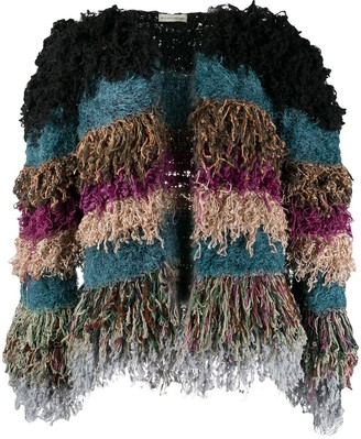 Etro Faux-Shearling Cropped Jacket