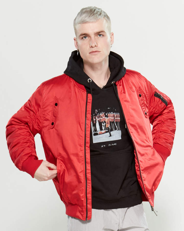 1e278afc8 Black And Red Jacket Men - ShopStyle