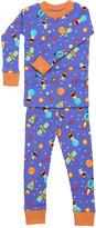 New Jammies Purple Space Cadets Organic Pajama Set - Infant Kids & Tween