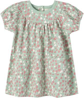Peek Aren't You Curious Allover Heart Print Dress