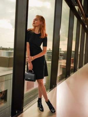 Tommy Hilfiger Exclusive Black Jumper Dress