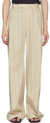 Off-White Palomo Spain Striped Safari Trousers