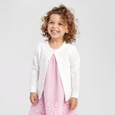 Cat & Jack Toddler Girls' Cardigan Fresh White