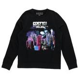 Balenciaga Black Cotton Knitwear Sweatshirt
